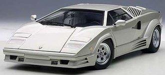 Lamborghini Countach 25th Anniversary Edition, Silver