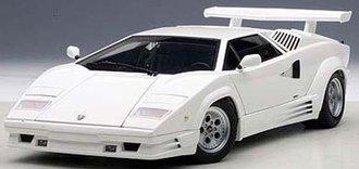 Lamborghini Countach 25th Anniversary Edition (White)