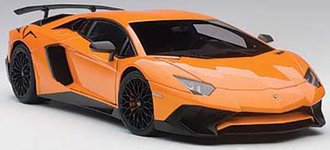 Lamborghini Aventador LP750-4 SV, (Metallic Orange)