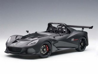 Lotus 3-Eleven (Matte Black w/Gloss Black Accents)