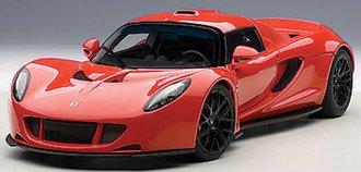 Hennessey Venom GT Spyder (Red)