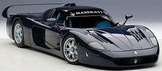 Maserati MC12 Road Car, Metallic Blue