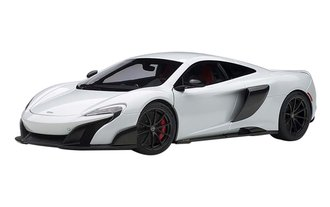 McLaren 675LT (Silica White)