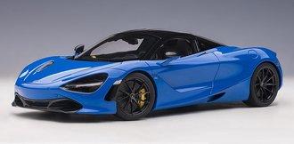 McLaren 720S (Paris Blue/Metallic Blue)