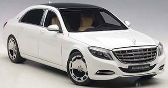 Mercedes Maybach S-Klasse, S600 (White) (Composite)