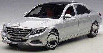 Mercedes Maybach S-Klasse S600 (Silver) (Composite)