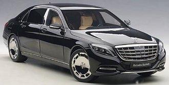 Mercedes Maybach S-Klasse, S600 (Black)