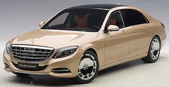Mercedes Maybach S-Klasse, S600 (Champagne Gold)