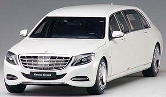 Mercedes Maybach S 600 Pullman (White)