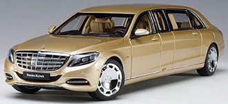 Mercedes Maybach S 600 Pullman (Gold)
