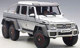 Mercedes-Benz G63 AMG 6x6 (Silver)