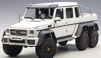 Mercedes-Benz G63 AMG 6x6 (Matte Black)