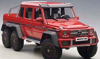 Mercedes-Benz G63 AMG 6X6 (Red) (Composite)