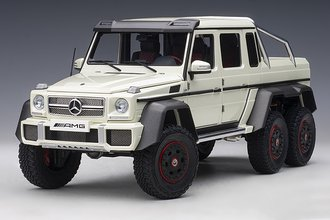Mercdes-Benz G63 AMG 6x6 (Designo Diamond White)