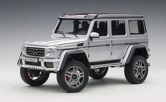 Mercedes-Benz G500 4x4 2 (Silver)