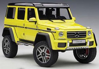 Mercedes-Benz G500 4x4 2 (Electric Beam/Yellow)