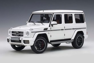 2017 Mercedes-AMG G63 (Gloss White)