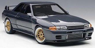 "Wangan Midnight - Nissan Skyline GT-R (R32) ""Reina"" (Gungrey Metallic)"