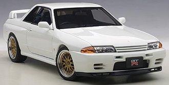 Nissan Skyline GT-R (R32) V-Spec II Tuned Version (Crystal White)