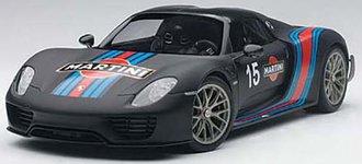 Porsche 918 Spyder Weissach Package (Black/Martini Livery)