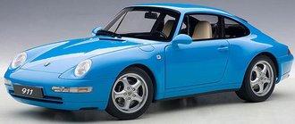 1995 Porsche 99S Carrera (Riviera Blue Metallic)