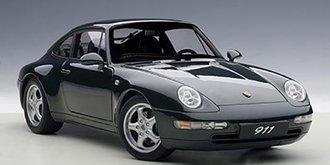 1995 Porsche 993 Carrera (Green Metallic)