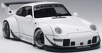RWB Porsche 993 (White/Gun Grey Wheels)