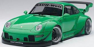 RWB Porsche 993 (Green/Gun Grey Wheels)