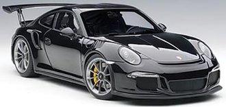 Porsche 911 (991) GT3 RS (Gloss Black w/Silver Wheels)