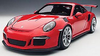 Porsche 911 (991) GT3 RS (Guards Red w/Silver Wheels)