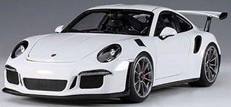 Porsche 911 (991) GT3 RS (White w/Dark Grey Wheels)