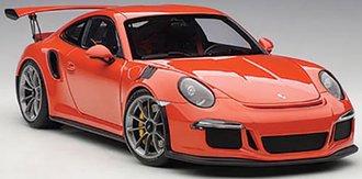 Porsche 911 (991) GT3 RS (Lava Orange w/Dark Grey Wheels)