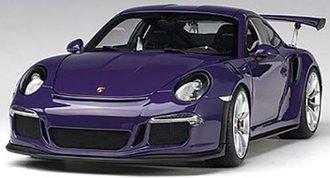 Porsche 911 (991) GT3 RS (Ultraviolet w/Silver Wheels)