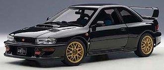 Subaru Impreza 22B (Black) (Upgraded Version)