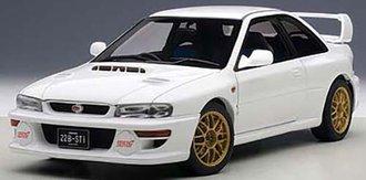 Subaru Impreza 22B (White) (Upgraded Version)