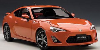 "Toyota 86 GT ""Limited"", Asian Version/RHD, Orange Metallic"