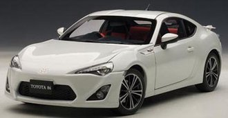 "Toyota 86 GT ""Limited, Asian Version/RHD"" (White Pearl)"