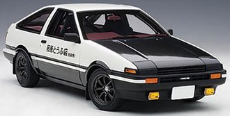 "Toyota Sprinter Trueno (AE86) ""Initial D"" Project D Final Version"