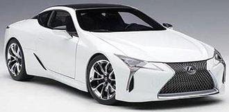 Lexus LC500 (Metallic White)