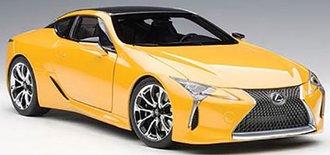 Lexus LC500 (Metallic Yellow)