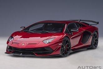 Lamborghini Aventador SVJ (Metallic Red)