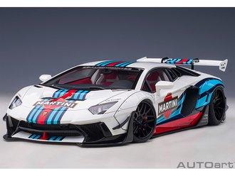 "Liberty Walk LB-Works Lamborghini Aventador Limited Edition, ""Martini Livery"""