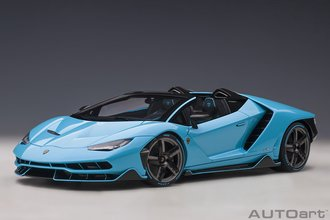 Lamborghini Centenario Roadster, (Blu Cepheus/Pearl Blue)