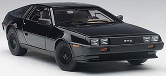 1:18 DeLorean DMC-12 (Black Metallic)