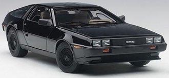 1:18 DeLorean DMC-12 (Black Metallic)