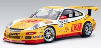 Porsche 997 GT3 Cup 2007 Team Jebsen D.O'Young #55