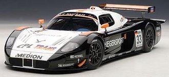 "Maserati MC12 ""FIA GT1 Championship 2010 A.Heger/A.Mueller #33"""