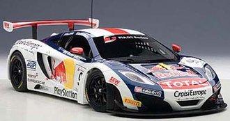 "McLaren 12C GT3 ""Red Bull, S.Loeb/A.Parente #9"""