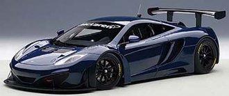 McLaren 12C GT3 (Azure Blue)