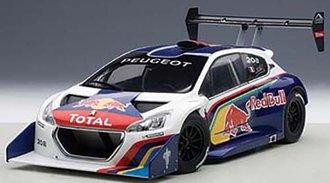 Peugeot 206 T16 Pikes Peak Race Car 2013, Red Bull, Composite